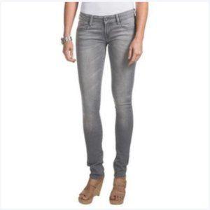 Habitual Low Rise Straight Leg Grey Denim Jeans